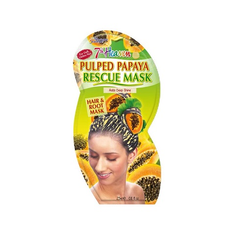 7th Heaven Montagne Jeunesse Pulped Papaya Rescue Hair & Root Mask 25ml