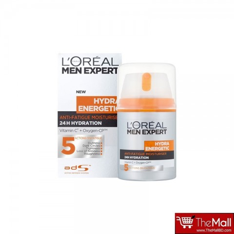 L'Oreal Paris Men Expert Hydra Energetic Anti-Fatigue Moisturiser 50ml