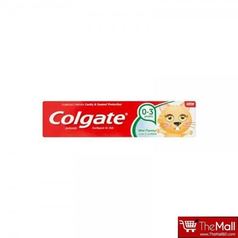 Colgate Anticavity Toothpaste for Kids Mild Flavour 0-3 Years 50ml