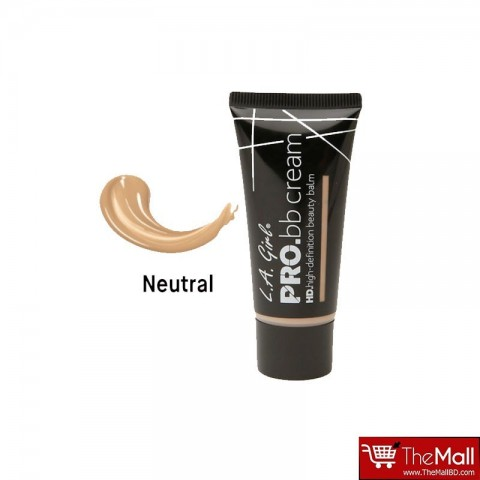 L.A. Girl Pro BB Cream HD Beauty Balm Neutral 30ml