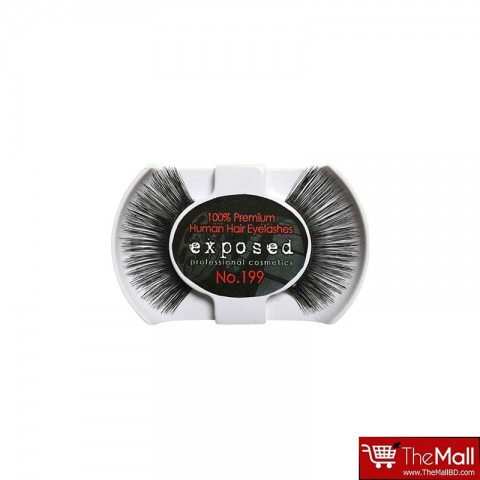 Exposed 100% Premium Human Hair Eyelashes 199