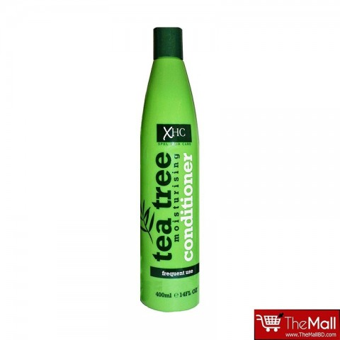 Xpel Hair Care Tea Tree Moisturising Conditioner Frequent Use 400ml