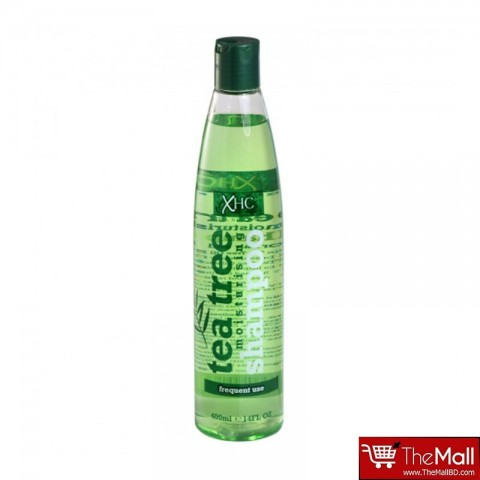 Xpel Hair Care Tea Tree Moisturising Hair Shampoo - Frequent Use - 400ml
