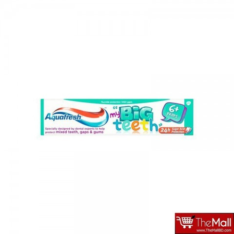 Aquafresh My Big Teeth 6+ Years Toothpaste 50ml