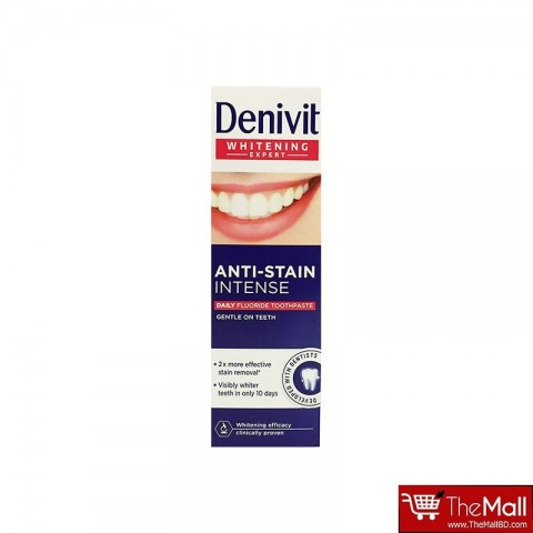 Denivit Anti Stain Intense Daily Fluoride Toothpaste 50 ml