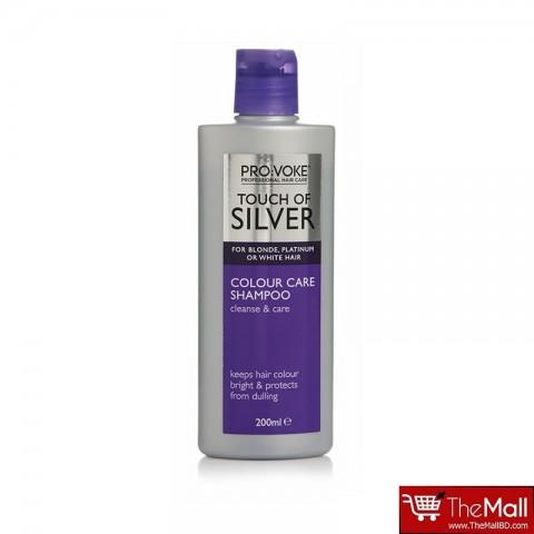 PRO:VOKE Touch Of Silver Colour Care Shampoo 200ml