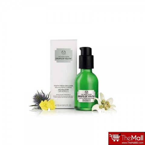 The Body Shop Drops Of Youth Youth Fresh Emulsion SPF20 PA 50ml