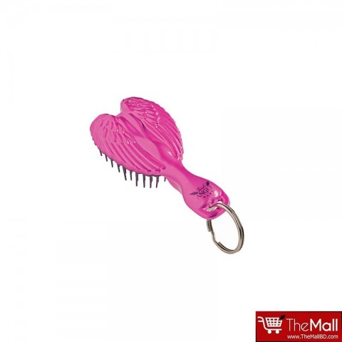 Tangle Angel Baby Keyring Hair Brush - Pink/Pink