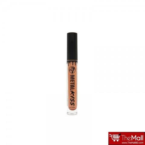 W7 Metal Kiss Lip Gloss 3ml - Banshee