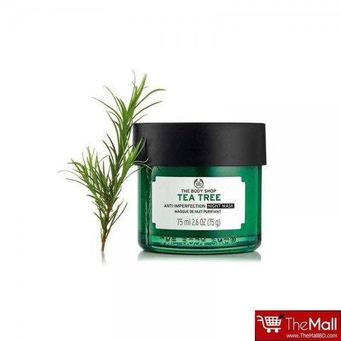 The Body Shop Tea Tree Anti-Imperfection Night Mask 75ml