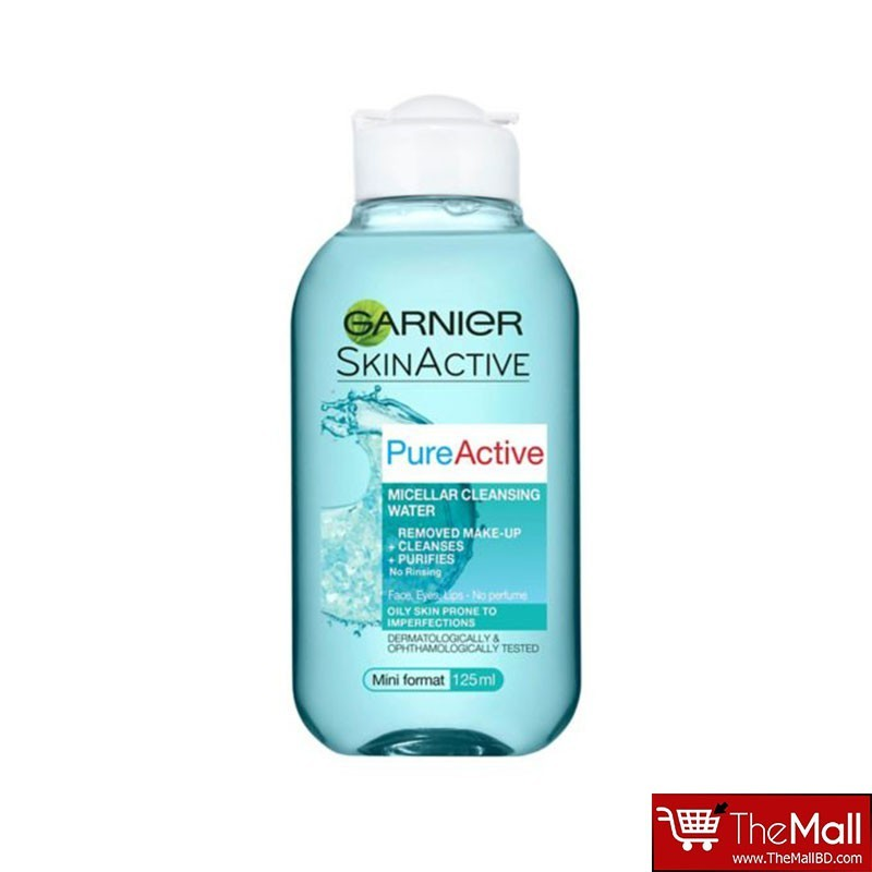 Garnier Pure Active Micellar Cleansing Water 125ml