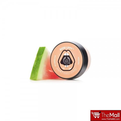 The Body Shop Born Lippy Pot Lip Balm 10ml - Watermelon