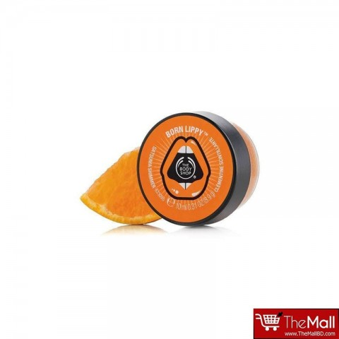 The Body Shop Born Lippy Pot Lip Balm 10 ml - Satsuma Shimmer
