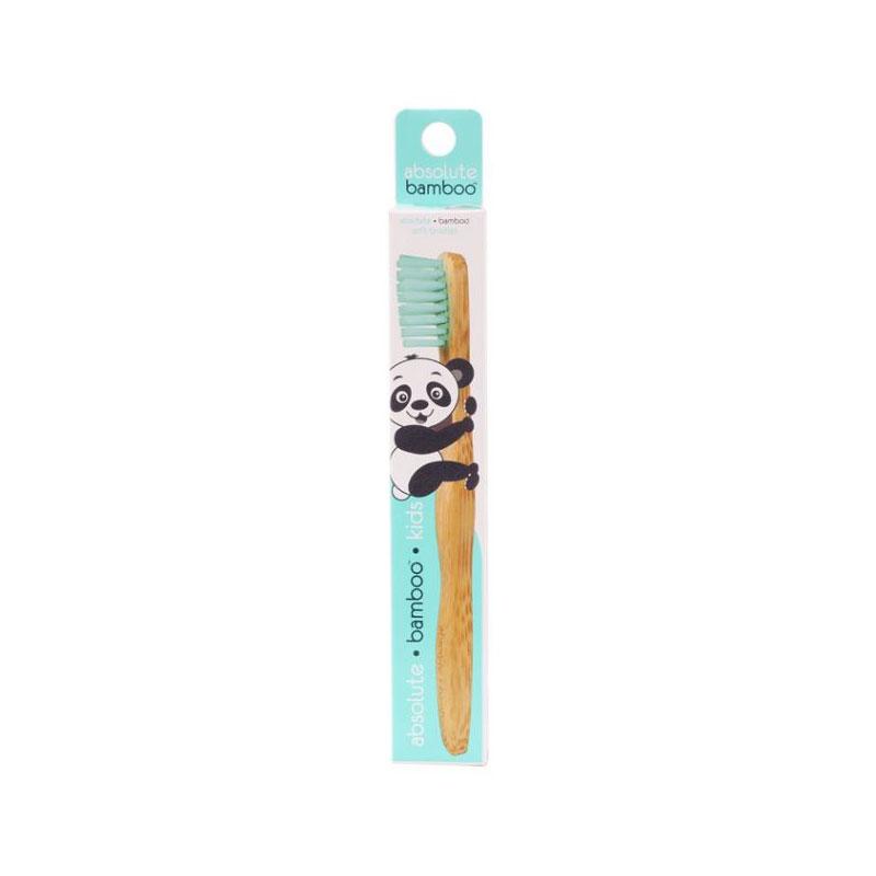 Absolute Bamboo Kids Children's Toothbrush - Blue