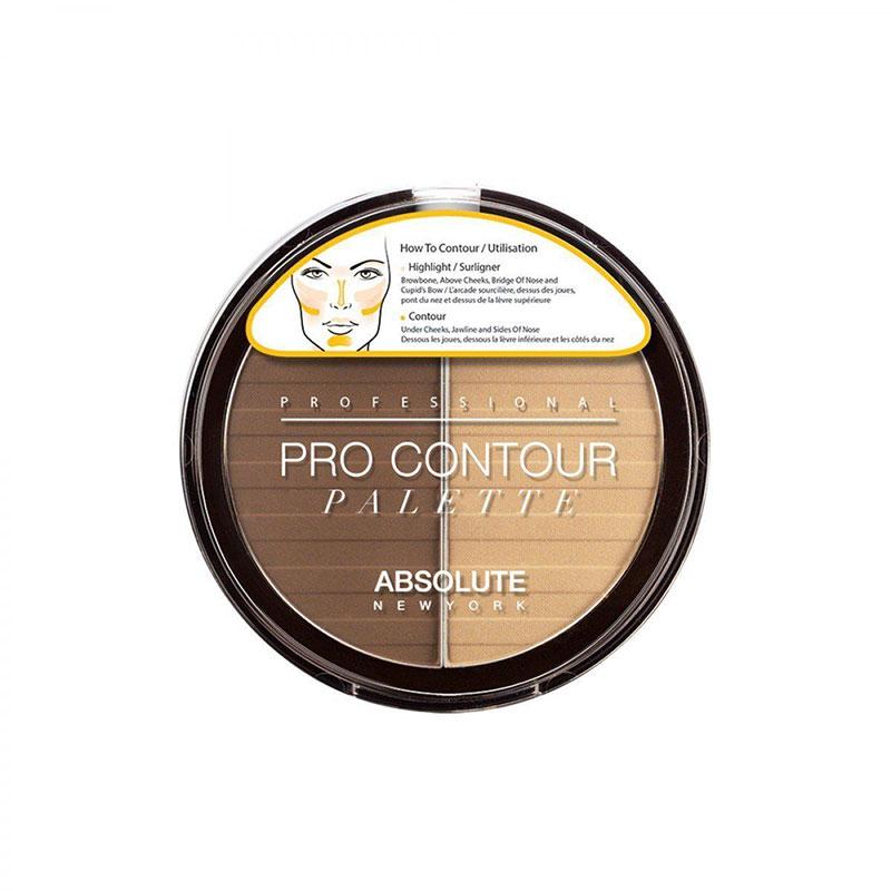 Absolute New York Pro Contour Palette 18g - APC02 Medium