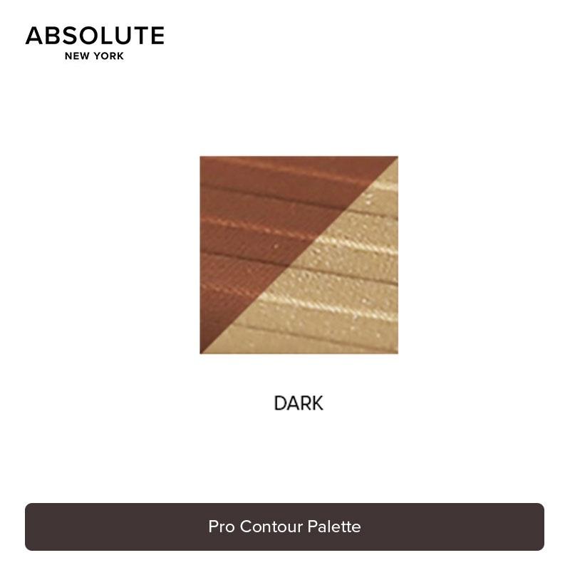 Absolute New York Pro Contour Palette 18g - APC03 Dark