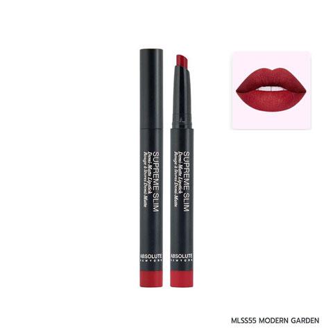 Absolute New York Supreme Slim Demi Matte Lipstick - MLSS55 Modern Garden