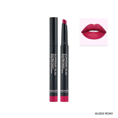 Absolute New York Supreme Slim Demi Matte Lipstick - MLSS59 Peony