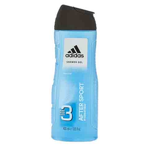 Adidas After Sport Hydrating Shower Gel For Men 400ml