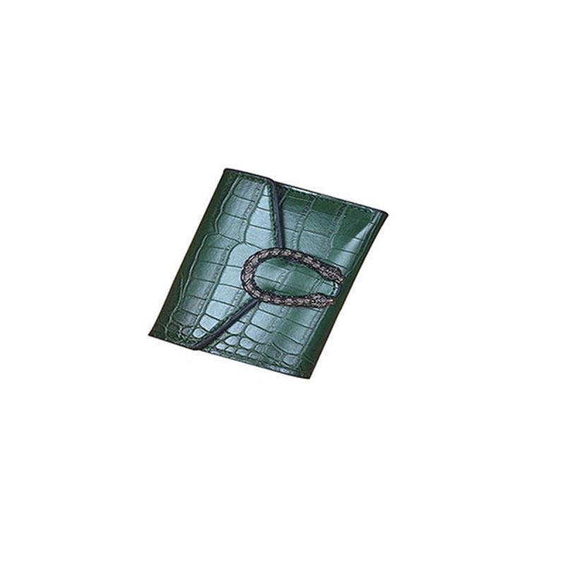 All Match Crocodile Pattern Wallet