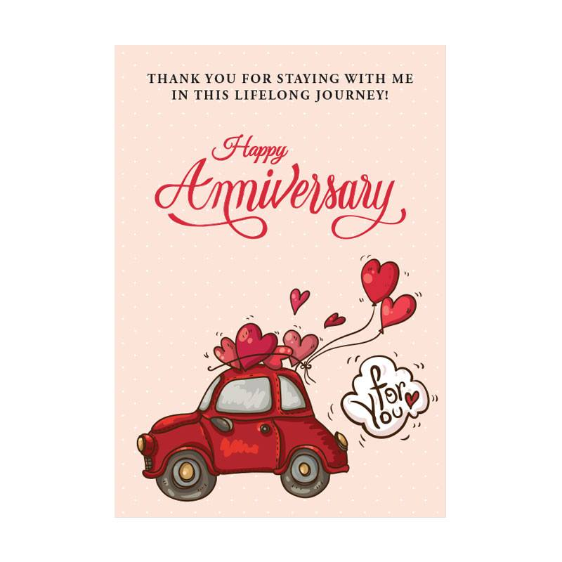 Anniversary Gift Card - VL023