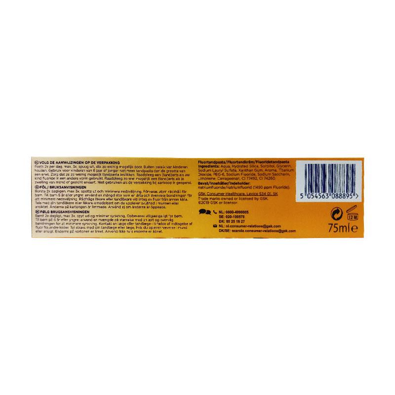 Aquafresh Senses Energising Grapefruit Lemon & Mint Toothpaste 75ml