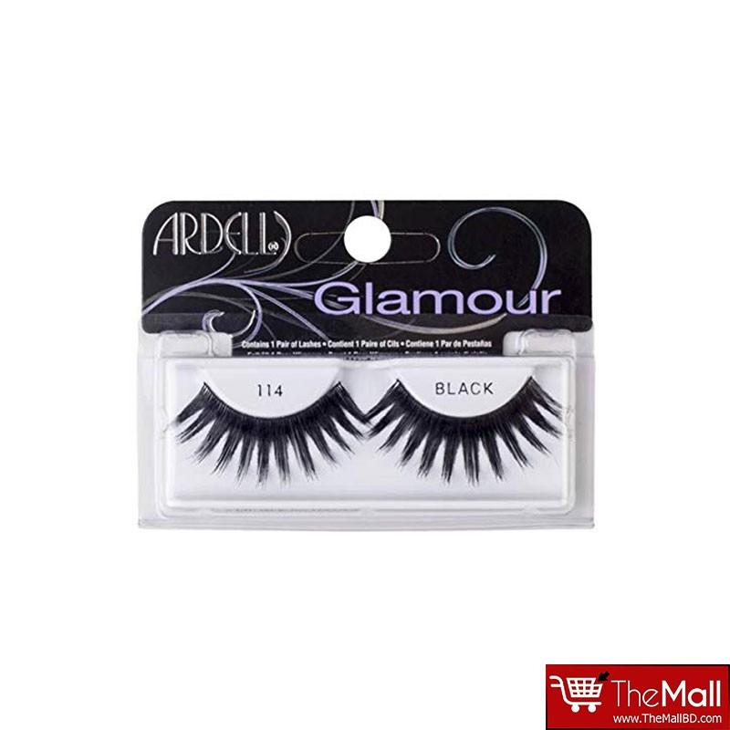 Ardell Glamour False Eyelashes - 114 Black