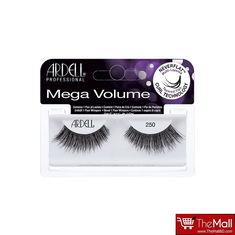 Ardell Mega Volume Lashes - 250 Black