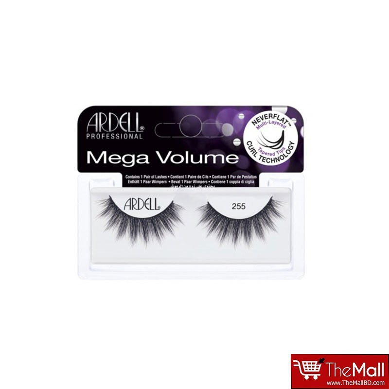 Ardell Mega Volume Lashes - 255 Black