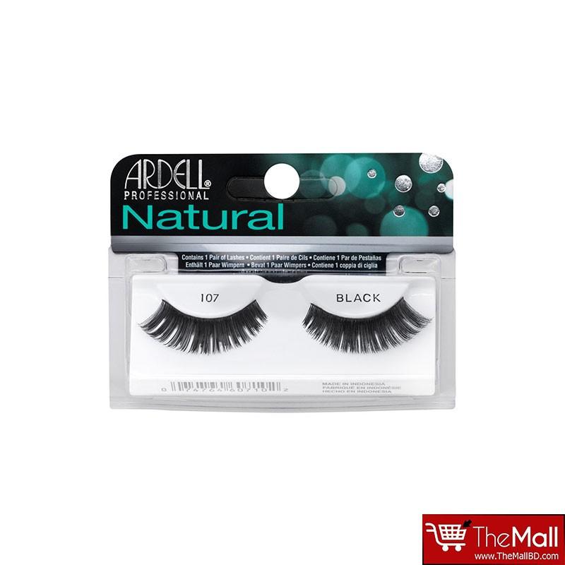 Ardell Natural False Eyelashes - 107 Black
