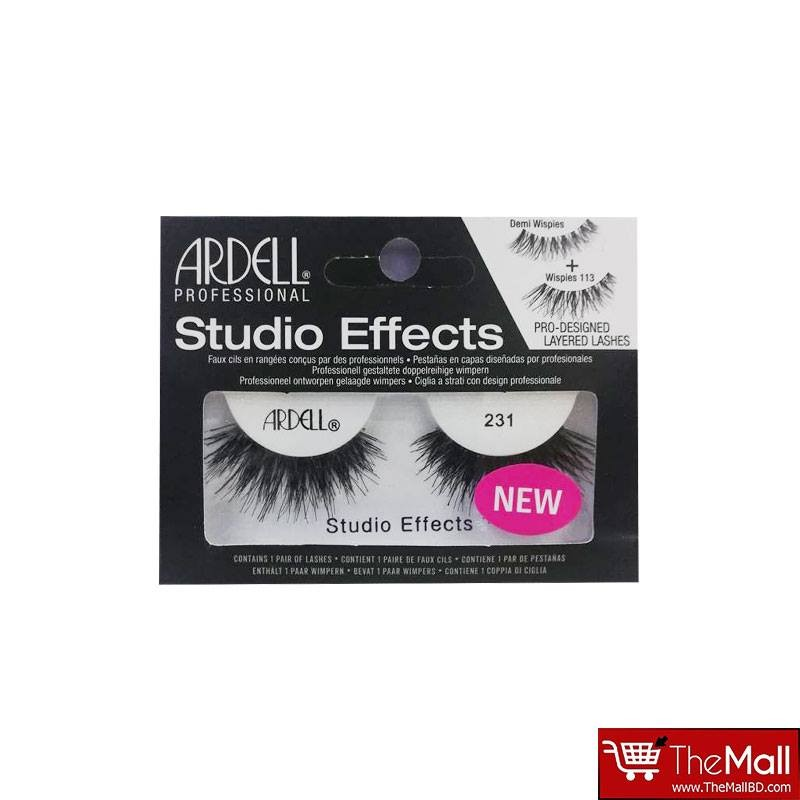 Ardell Studio Effects Lashes - 231 Black