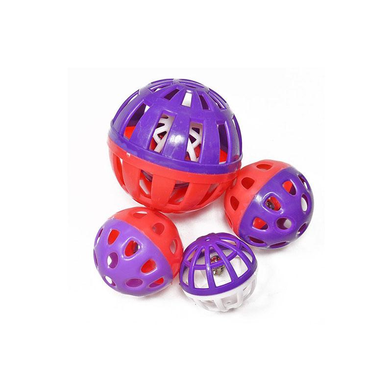 Armitage Pet Care Good Girl Bat It Amaze Balls For Cats 4 Pack - Purple