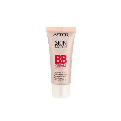 Astor Skin Match Care BB Cream 30ml - 100 Ivory