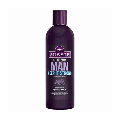 Aussie Man Keep It Strong For All Hair Types Shampoo 300ml