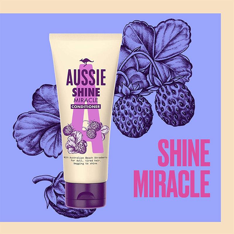 Aussie Shine Miracle Conditioner 200ml