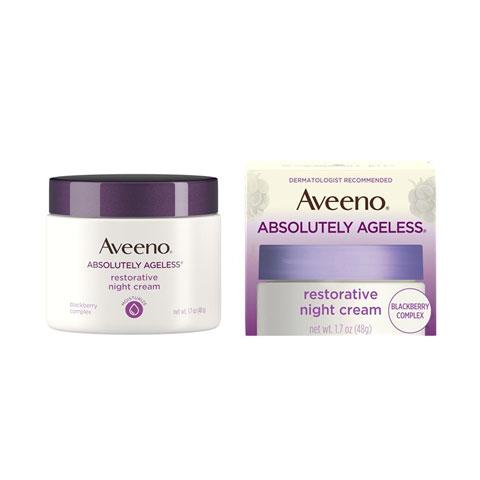 Aveeno Absolutely Ageless Restorative Night Cream 48g