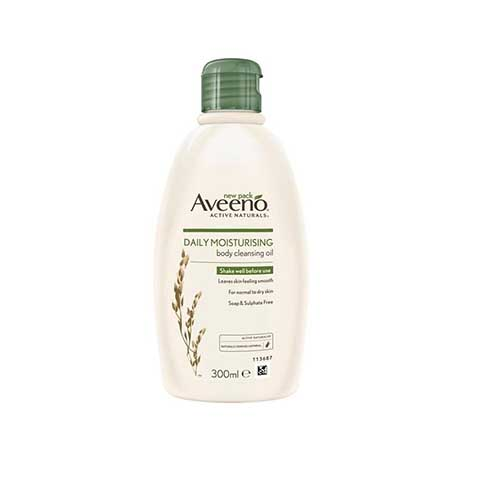 Aveeno Active Naturals Daily Moisturising Body Cleansing Oil 300ml