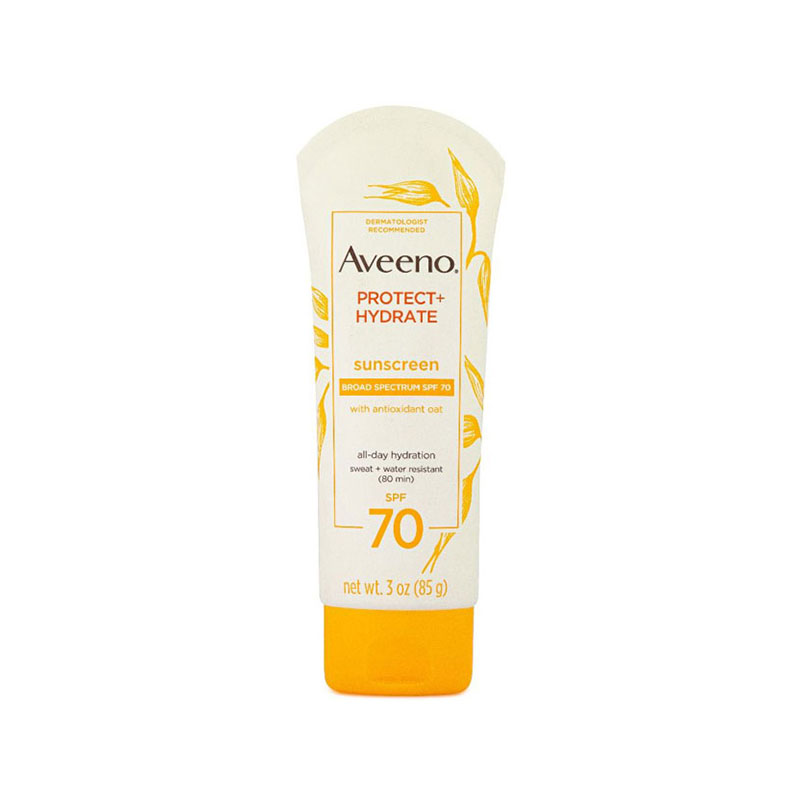 Aveeno Active Naturals Protect+Hydrate Lotion Sunscreen 85g - Spf 70