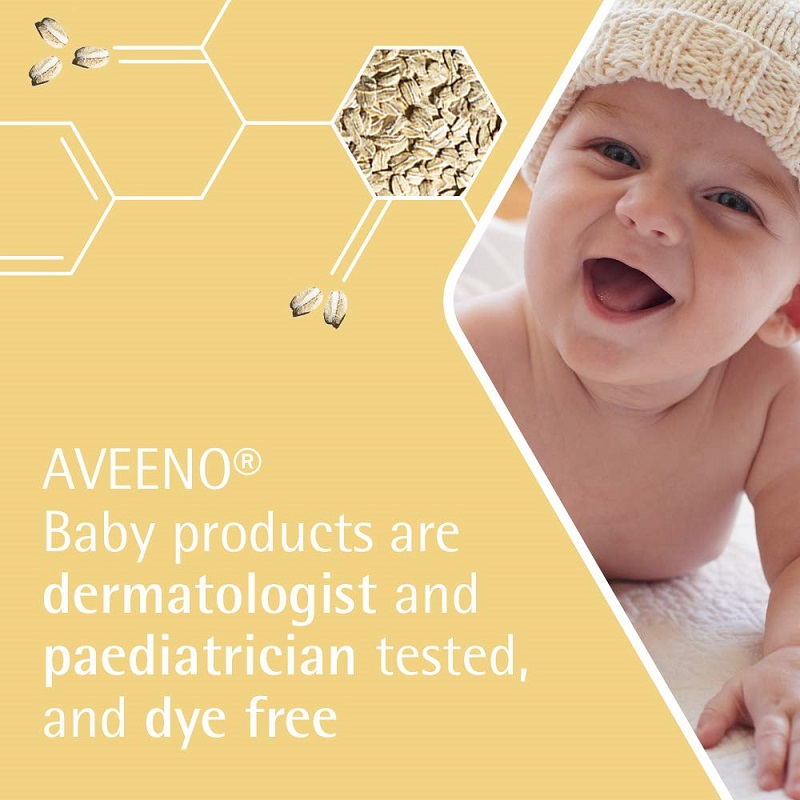 Aveeno Baby Daily Care Gentle Bath & Wash For Sensitive Skin 500ml