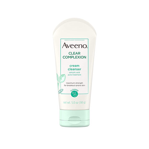 Aveeno Clear Complexion Cream Cleanser With Salicylic Acid 141g