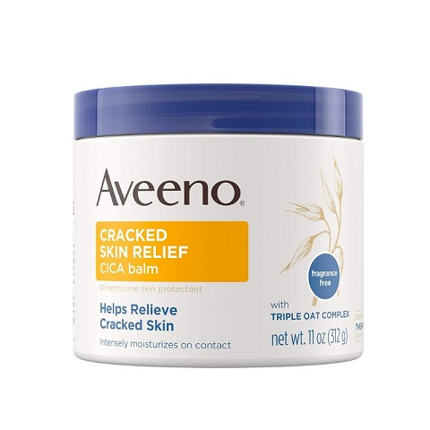 Aveeno Cracked Skin Relief CICA Balm With Triple Oat Complex 312g