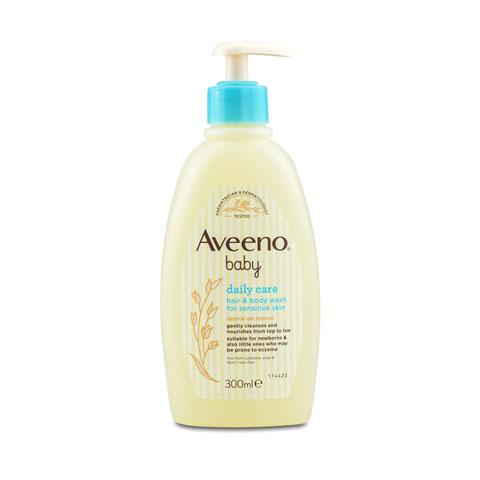 Aveeno Daily Care Baby Hair & Body Wash 300ml