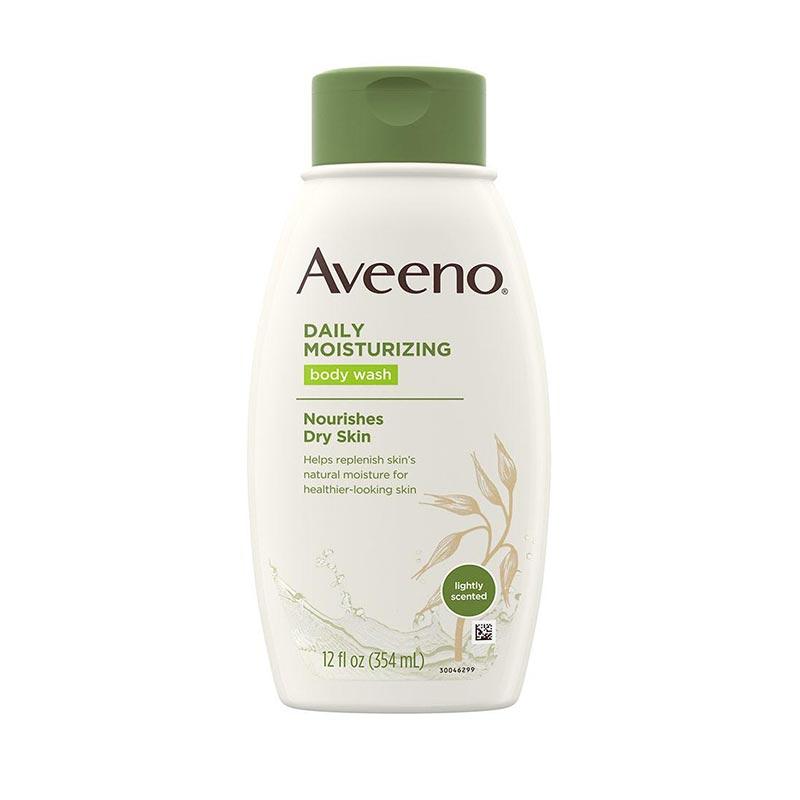 Aveeno Daily Moisturizing Body Wash For Nourishes Dry Skin 354ml