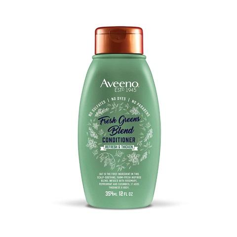 Aveeno Fresh Greens Blend Refresh & Thicken Conditioner 354ml