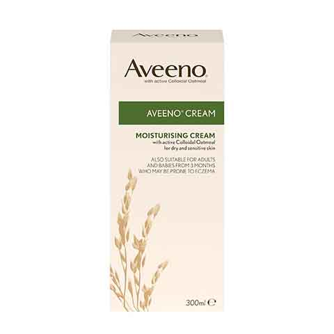 Aveeno Moisturising Cream for Dry & Sensitive Skin 300ml
