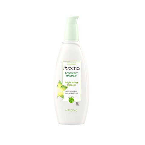 Aveeno Positively Radiant Brightening Cleanser For Face 200ml