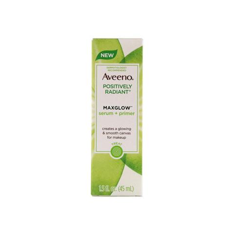Aveeno Positively Radiant Maxglow Serum + Primer 45ml