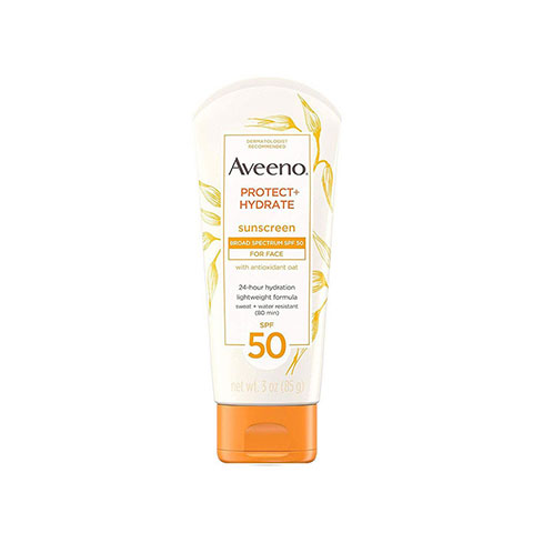 Aveeno Protect + Hydrate Lotion SPF 50 For Face 85g