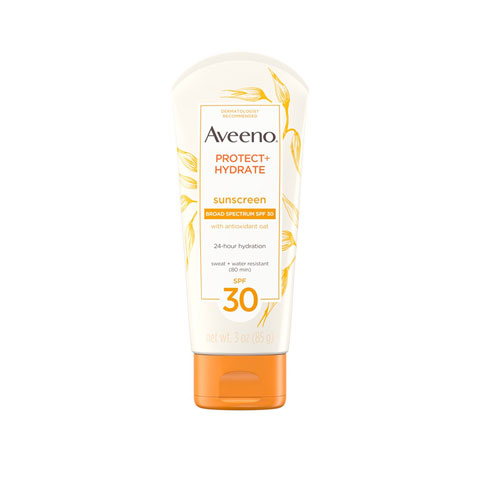 Aveeno Protect + Hydrate Lotion Sunscreen With Broad Spectrum 85g - SPF 30