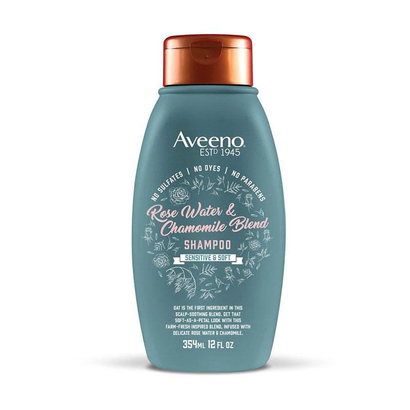 Aveeno Rose Water and Chamomile Blend Shampoo 354ml